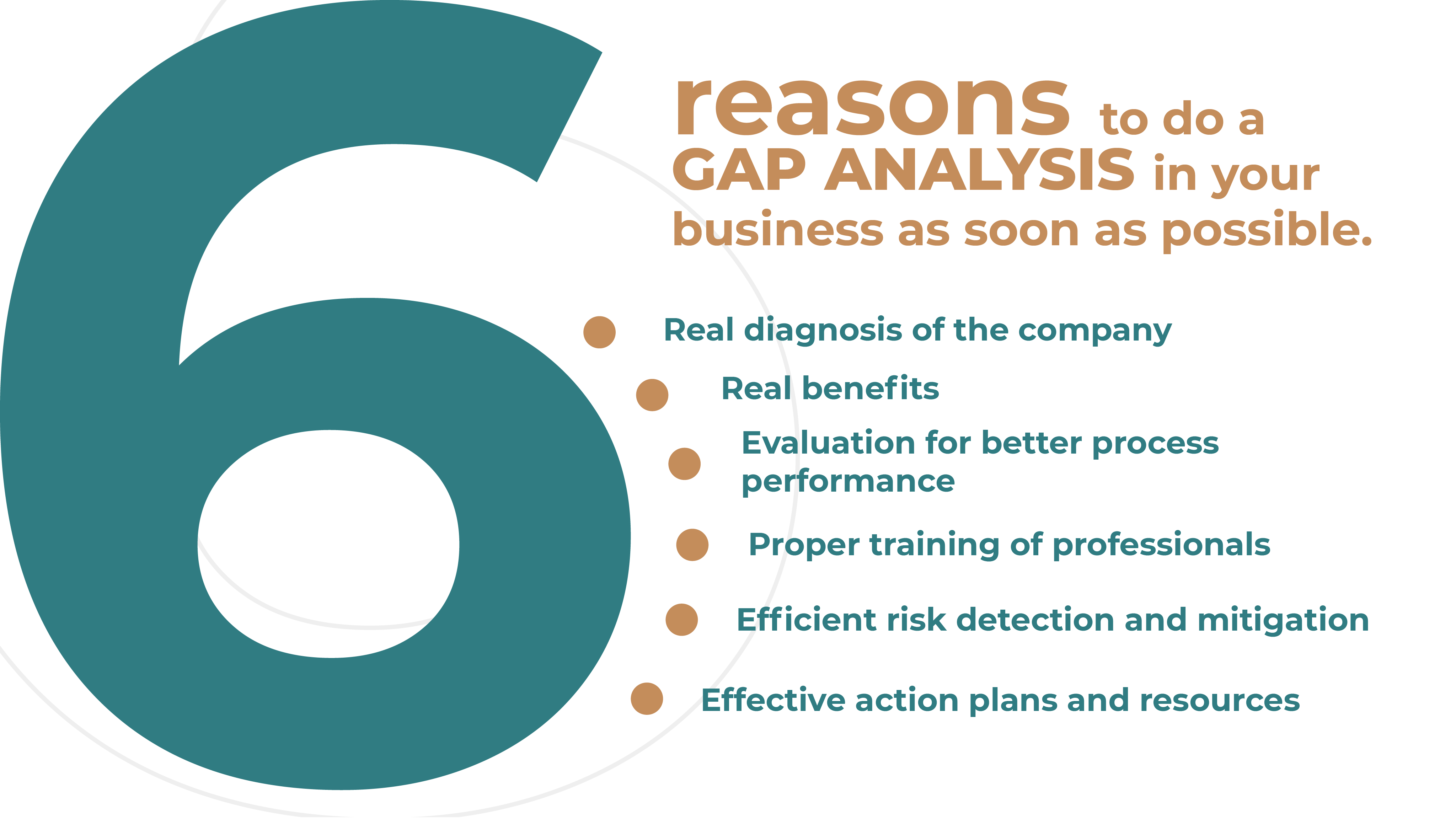 6 Reasons to make a GAP ANALYSIS to your business as soon as possible