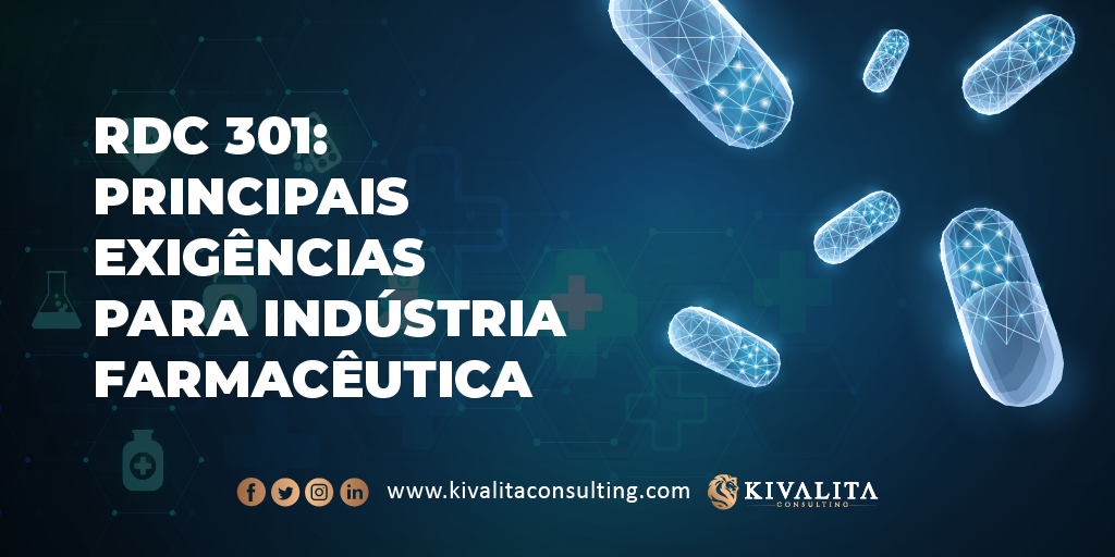 The best practices of RDC 301/2019 for pharmaceutical manufacturers