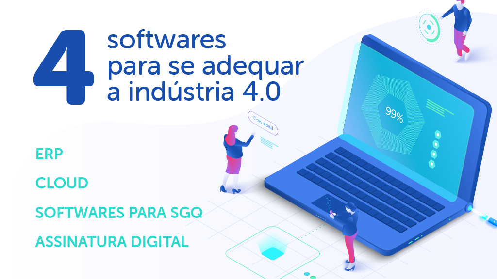 4 Softwares for you company follow the era of 4.0 industry